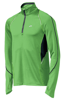 Brooks NightLige Infiniti 1/2 Zip