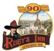 Ruby's Inn logo for Bryce Canyon Winter
