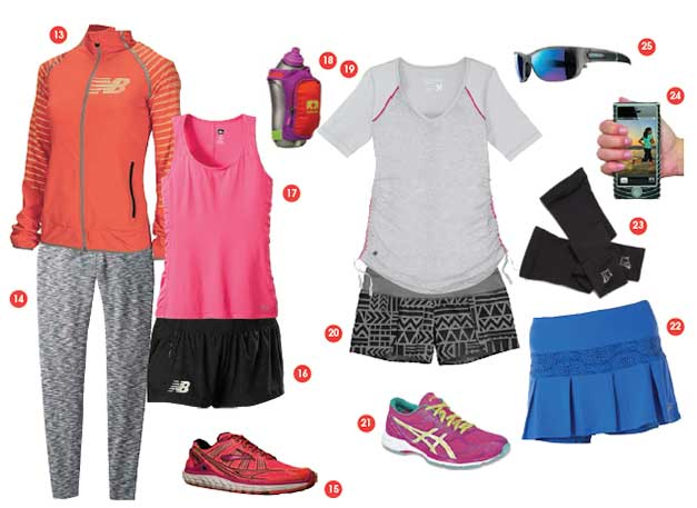 photo of women's run gear