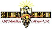 Salt Lake Marathon logo