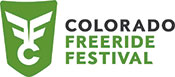 Logo image for the Colorado Freeride Festival, 2014.
